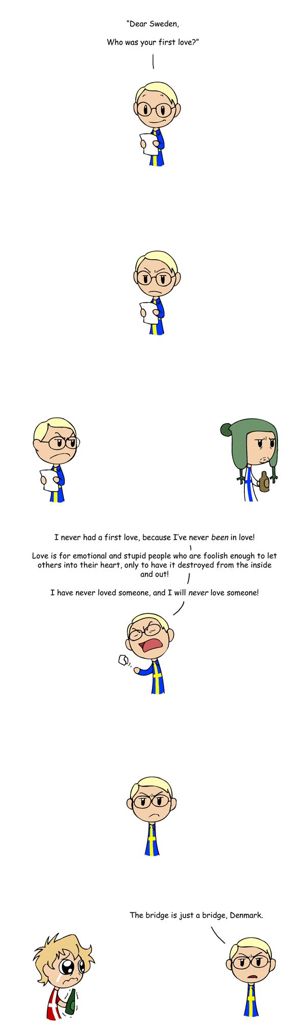 First Love - Scandinavia and the World