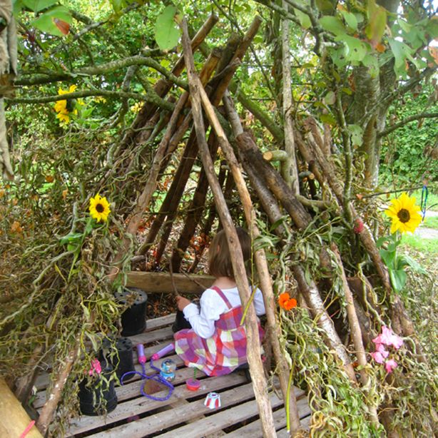 Best Homemade Dens Ever Outdoor Learning Spaces Outdoor