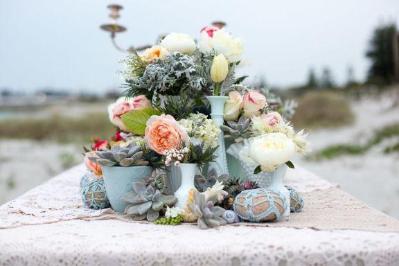 Boho beach wedding 10