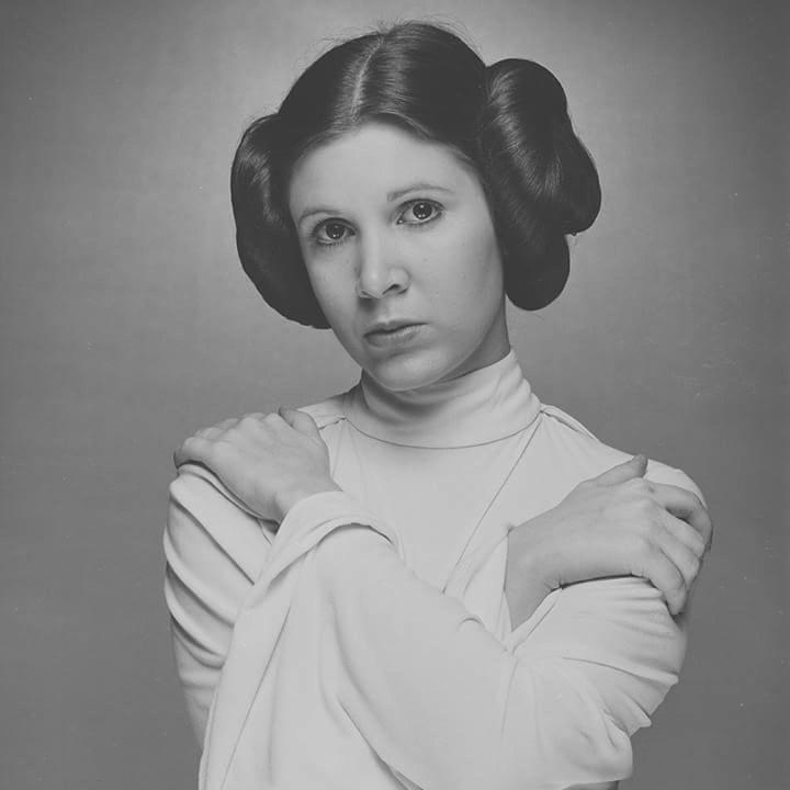 "retrostarwarsstrikesback: "" Carrie Fisher ""Princess Leia"" ,Star Wars @retrostarwarsstrikesback """