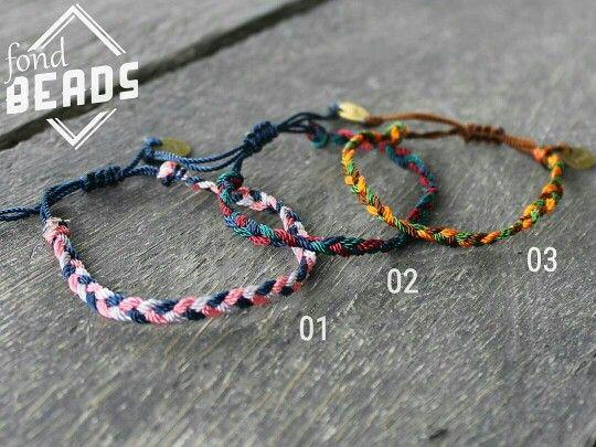 Instagram : @fondindonesia #gelang #gelangtali # bracelet