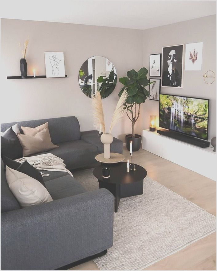 32 Living Room Color Schemes To Make Your Room Cozy In 2020 Living Room Color Schemes Living Room Decor Apartment Small Apartment Living Room #small #living #room #color #schemes