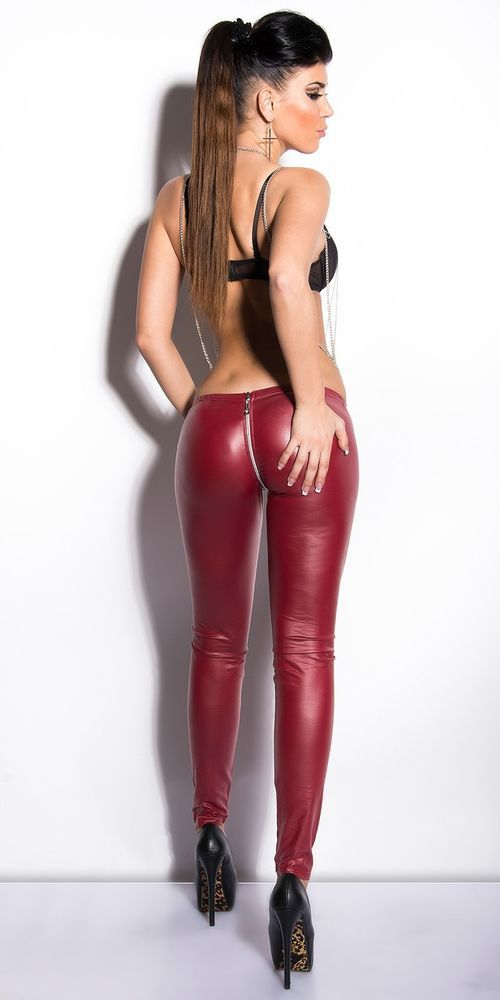 free sex v latex leggings
