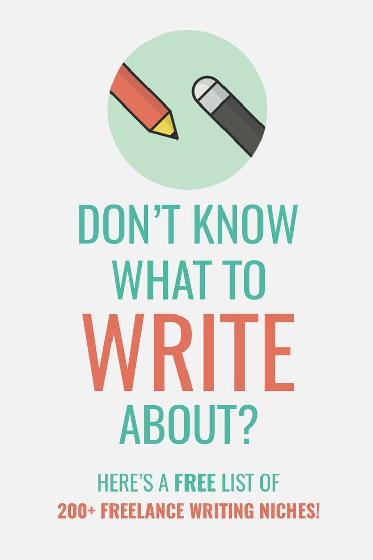 Want To Become A Freelance Writer, But Don't Know What To Write About