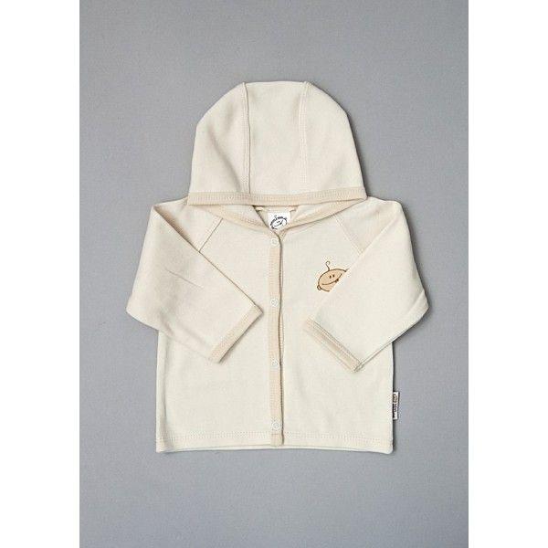Kabátek s kapucou z biobavlny