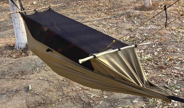 Outdoor Camping Survivor Hammock Tent Multifunction Portable Hammock Wear-Resisting Tents 160-180cm Height