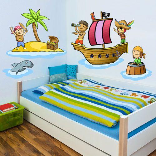 M s de 1000 ideas sobre habitaci n pirata de ni os en - Habitacion 3 ninos ...