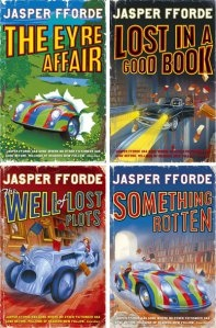 Jasper Fforde - The Thursday Next Series.
