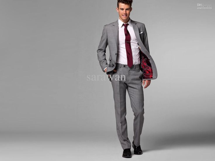 Grey Suits For Men Wedding - Ocodea.com
