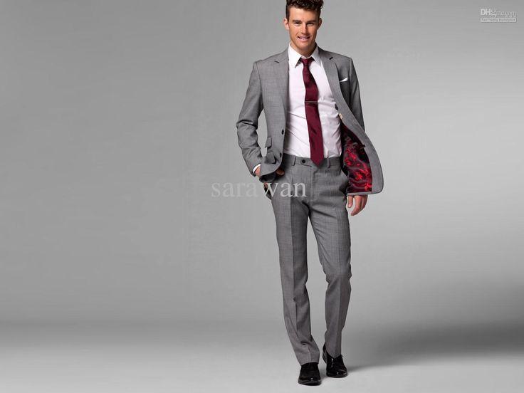 Grey Suits For Men Wedding - Ocodea.com