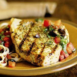 #Swordfish, Sicilian Style: Seafood Recipes, Recipes Seafood Fish, Grilled Swordfish, Sensible Seafood, Sicilian Style, Sicilian Swordfish, Swordfish Steaks Recipes, Style Recipes, 2014 Food