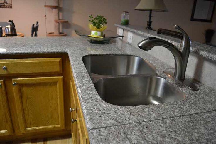 Our Lazy Granite Sink Kit In Mint Brown Lazy Granite In