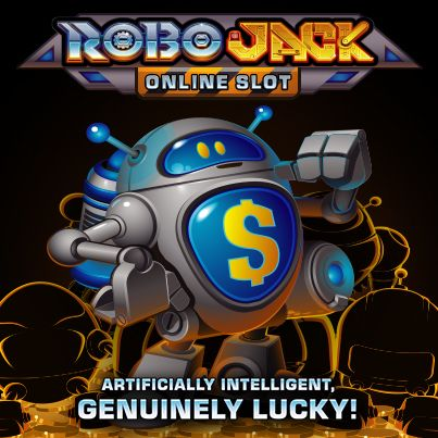 Go gizmo with these cute robots in Robo Jack.
