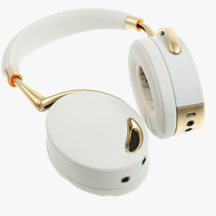 Parrot Zik Dourado \ Branco: pelo melhor preço de todoos R$ 1.454,90 via Boleto na FONELAND:  https://foneland.com.br/produto/668/fone-de-ouvido-parrot-zik-dourado-branco.html