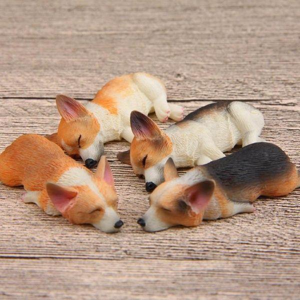 Cute Dog Home Fridge Refrigerator Corgi New Gift Clasp Decoration