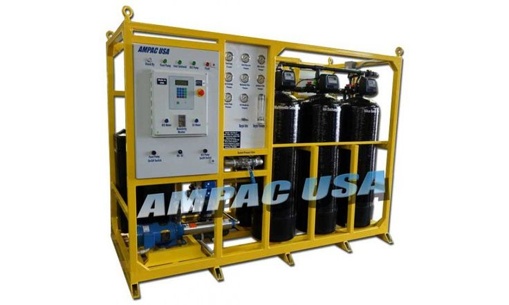 Off-Shore Sea Water Desalination Watermaker SW10K-C1D2 - Ampac USA