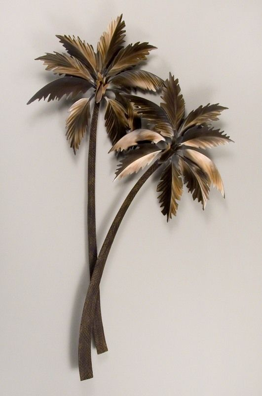 Palm Tree Wall Decor 215 best metal wall decor images on pinterest | metal wall decor