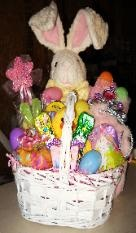 44 best gift baskets images on pinterest gift baskets easter very large easter basket before wrapping negle Image collections