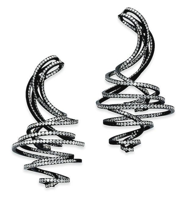 JAR String earrings, Christie's Geneva 2014