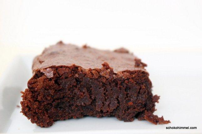 cremige Schwarzbier-Brownies - Schokohimmel