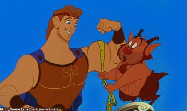 Day 5: Favourite Hero - Hercules from Hercules.. Close second would be Shadow from Homeward Bound