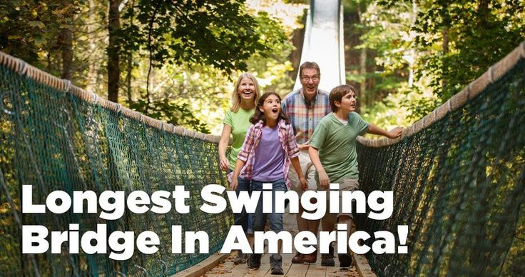 Swinging Bridge Adventure in Gatlinburg & Pigeon Forge TN