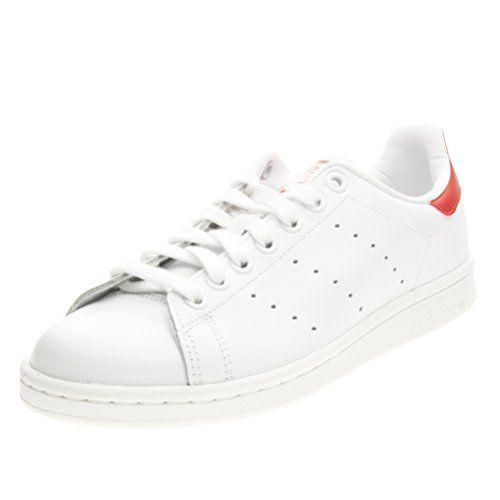 Adidas - Adidas Stan Smith Damen Sportschuhe Weiss Rot M20326 - Weiss, 36 - http://on-line-kaufen.de/adidas/36-eu-adidas-herren-stan-smith-sneakers