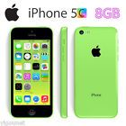 "4"" Apple iPhone 5C 8GB LTE 4G 8MP Smartphone Factory Unlocked  AAA Stock Green"
