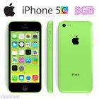 "4"" Apple iPhone 5C 8GB LTE 4G 8MP Smartphone Factory Unlocked  AAA Stock Green"