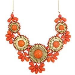 Coral Statement #Necklace