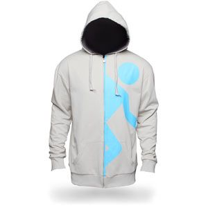 Portal 2 Test Candidate Hoodie from ThinkGeek.com