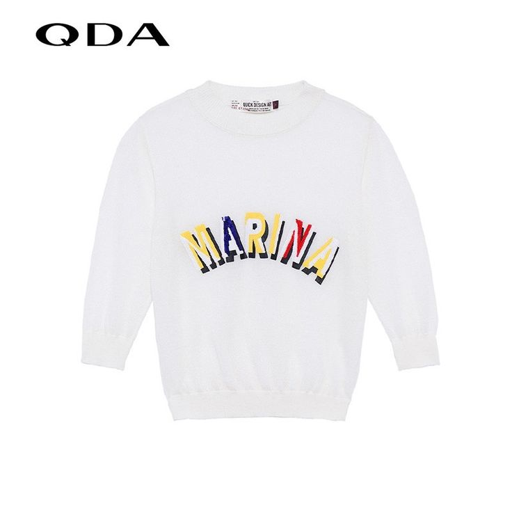 Celebrity Style Printed Hollow Out Scoop Neck Alphabet Knitted Sweater - OACHY The Boutique #sweater, #celebrity, #boutique, #knitted, #alphabet