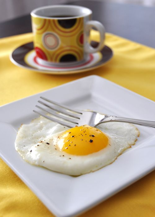 How to Make Eggs Sunny Side Up