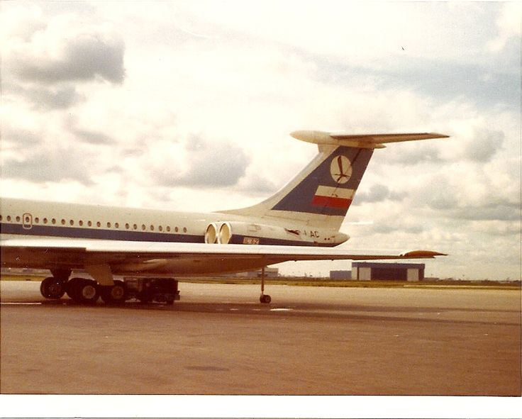 LOT Polish Airlines Ilyushin IL-62 Chicago O'Hare Airport