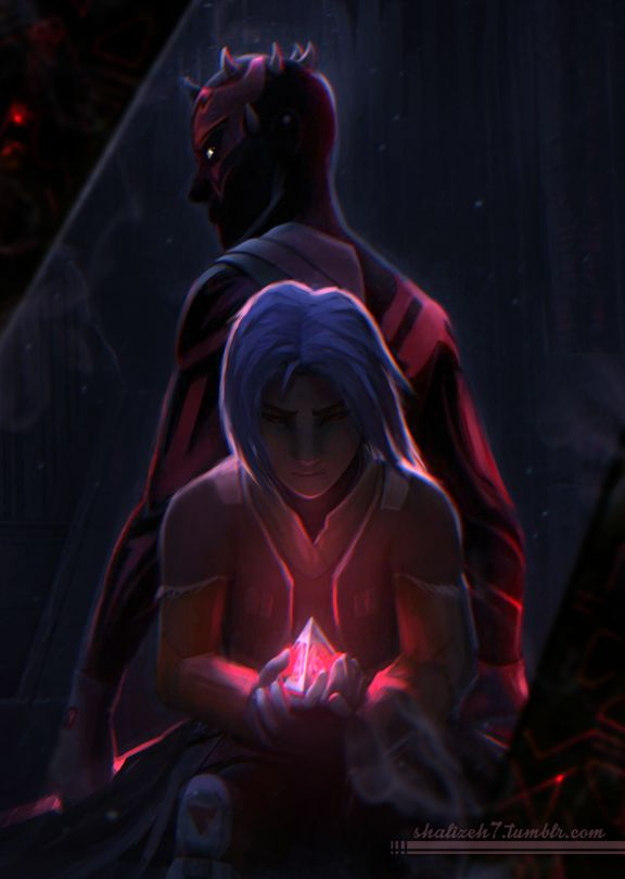 shalizeh7:  I watched the final    2nd season episodes of Star Wars: Rebels T_T