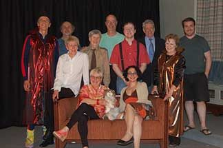 Cast of dramatis personae - westmountmag.ca Dramatis Personae's Smoke & Mirrors Lodge Room of Victoria Hall, 4626 Sherbrooke W.  Show times are: Friday, December 2 at 7:30 pm Saturday, December 3 at 7:30 pm Sunday, December 4 at 2 pm Monday, December 5 at 8 pm.  Admission: suggested donation of $10. Reservations and information at theatrewestmount.com and 514 484 2016.