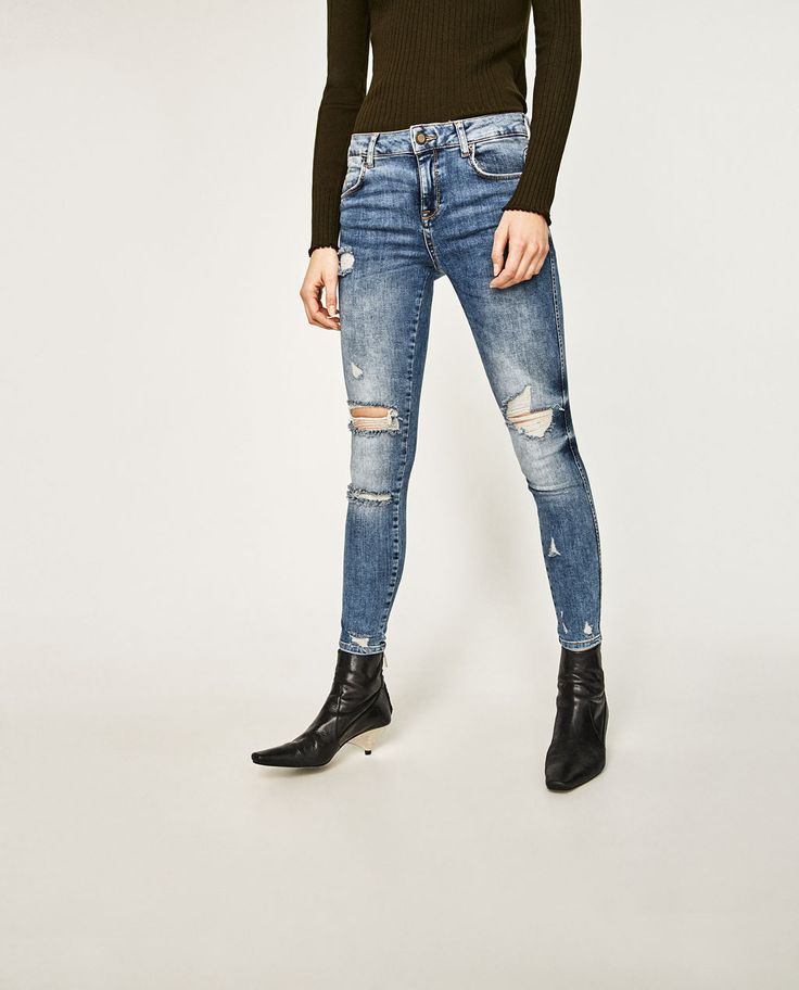 ZARA - COLLECTION SS/17 - MID-RISE JEANS