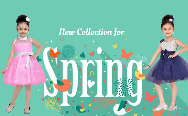 How to dress up your girl like  a princess? Read the blog which suggests how to elevate the fashion quotient of your princess with comfy yet designer party wear frocks and dresses with skin-friendly fabrics  for this Spring!!