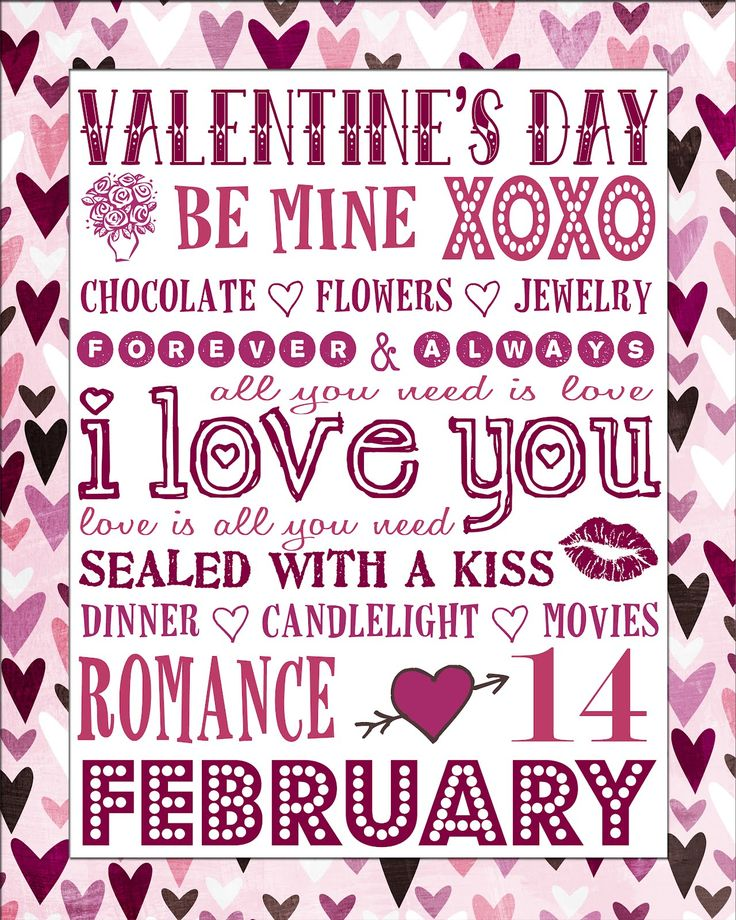 Free Printable Valentine S Quote: 17 Best Images About Art Valentine's Day On Pinterest
