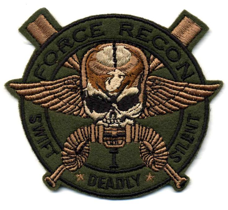us special forces patches | patches created by us for specialty team called 1st force recon ...