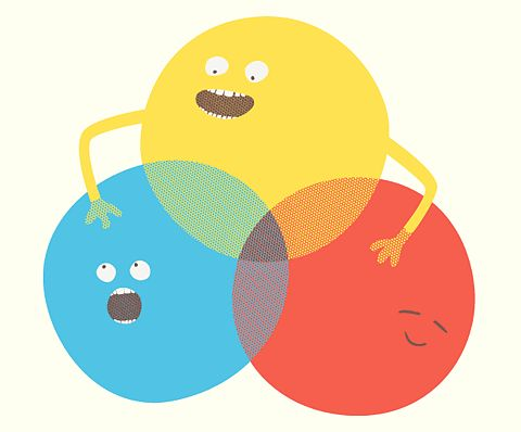 Primary colors. I could make this as a window cling for my classroom