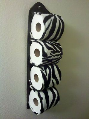 Animal Print Multiple Bathroom Tissue Holder *Different Variations* | eBay