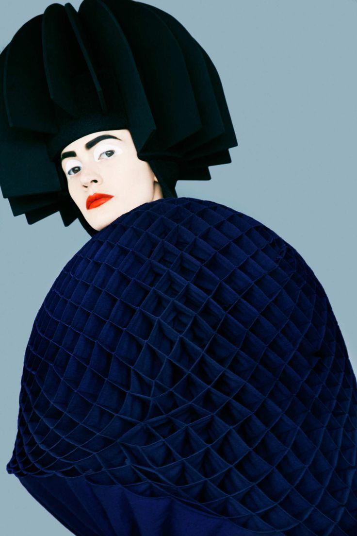See Striking Photos of Junya Watanabe's Sculptural Fall Collection