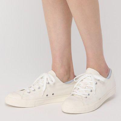 足なり直角 ハイゲージスニーカーイン(婦人・えらべる) 23~25cm・ブルー | 無印良品ネットストア