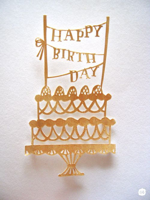 adorable birthday card diy by httpmasakokubotumblr
