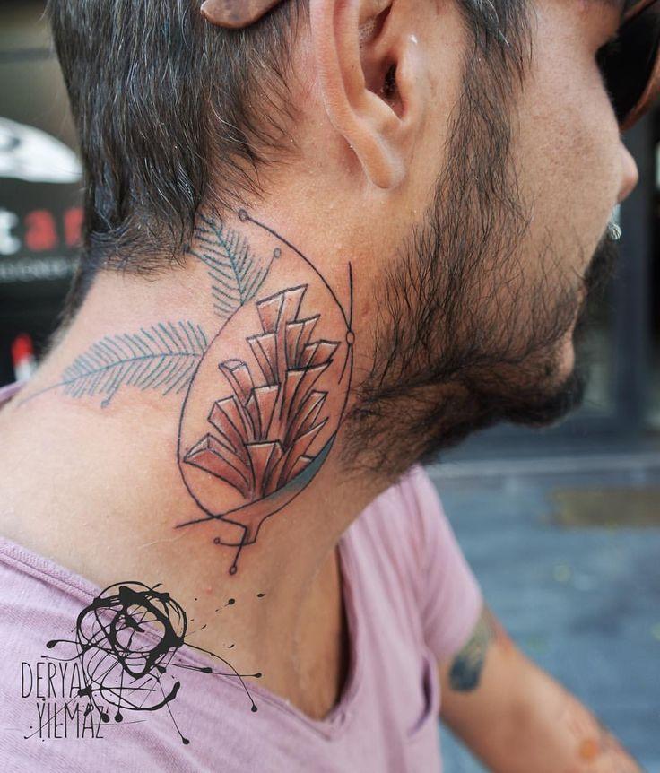 🌲 #pinecone #tattoo #tattoodesign #line #illustration #colorful #ink #inked