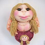 Куклы и игрушки ручной работы. Ярмарка Мастеров - ручная работа Кукла Попик женщина блондинка нежная и романтичная  - кукла на удачу.. Handmade.