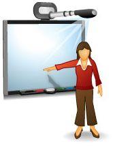 Een digiboard, zodat een klas ook les/uitleg kan krijgen in de mediatheek of dat je kunt testen of je presentatie het doet op een digiboard.