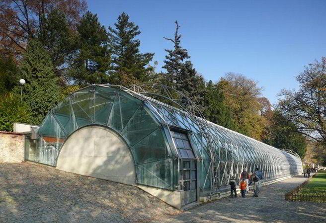 Kudy z nudy - Oranžerie v Královské zahradě Pražského Hradu