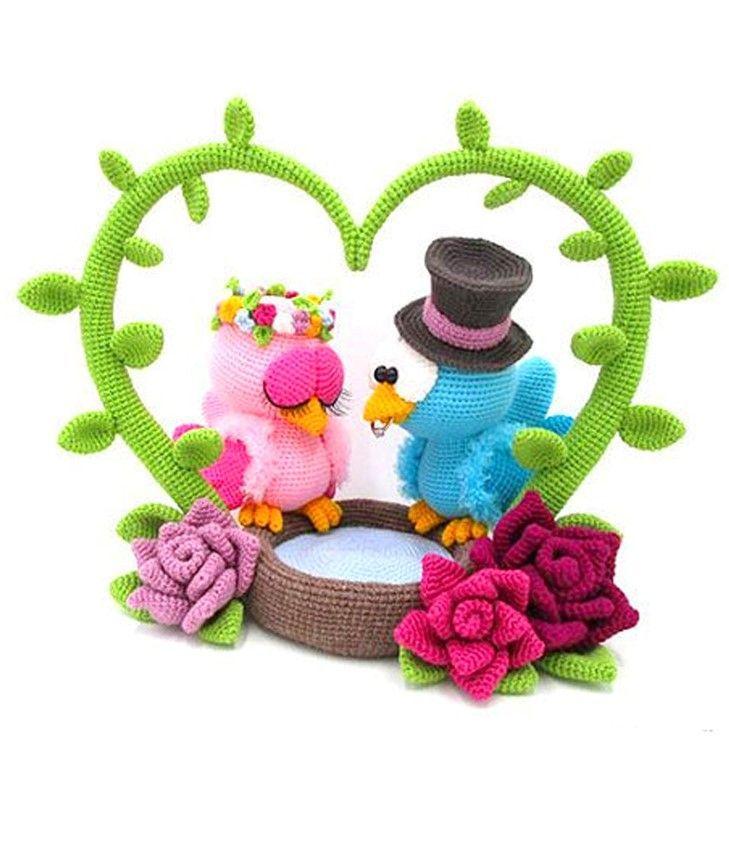 Crochet pattern Love Birds | Sabrina's Crochet | 864x729